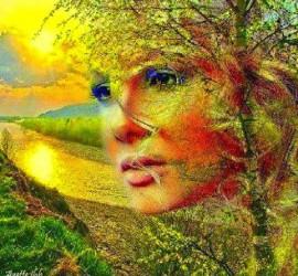 Da metamorfismo ab naturae - Viso donna da metamorfismo Azette jbh last shared google+