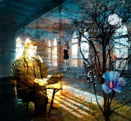 Van-Renselar-Abstraktes-Diverses-Moderne-expressiver-Realismus