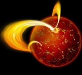 ZZ - zzScoperta una nuova stella. Rappresentazione artistica di una Magnetar - MANDATO 13.1.2016